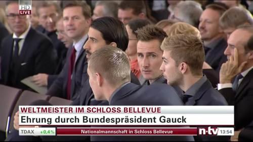 Silbernes Lorbeerblatt Präsentation - Miroslav Klose