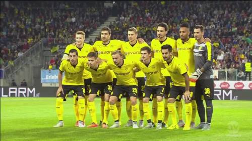 Team line-up – WAC v BVB