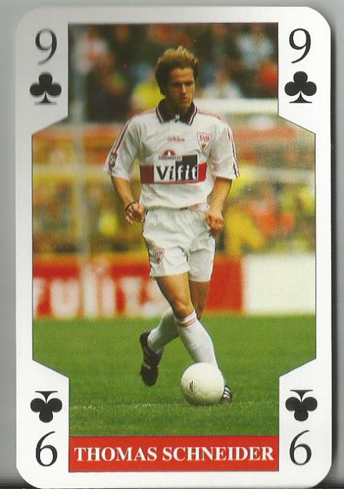 Thomas Schneider - VfB Stuttgart playing card