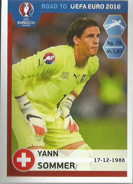 Yann Sommer - Switerzland - Road to Euro 2016