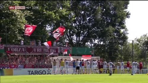 Freiburg celebrate 1