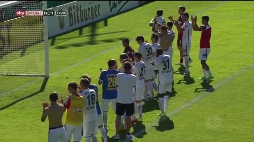 Freiburg celebrate 2