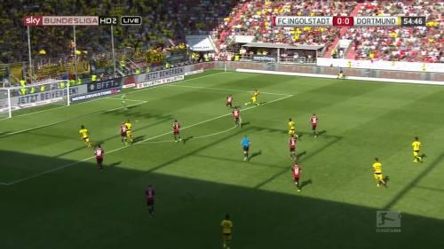 Ginter goal – Ingolstadt v BVB 1