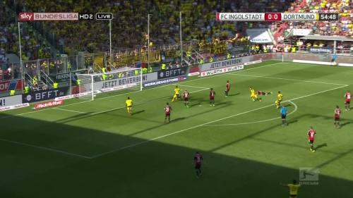 Ginter goal – Ingolstadt v BVB 2
