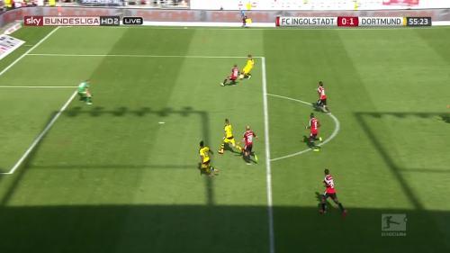 Ginter goal – Ingolstadt v BVB 3
