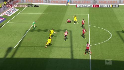 Ginter goal – Ingolstadt v BVB 4