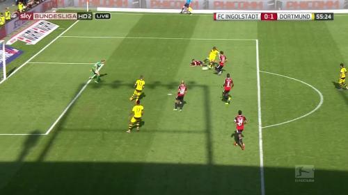 Ginter goal – Ingolstadt v BVB 5