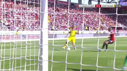 Ginter goal – Ingolstadt v BVB 7