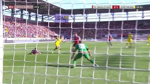Ginter goal – Ingolstadt v BVB 9