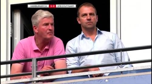 Hansi Flick at HSV v VfB 5