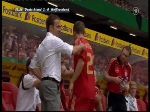 Hansi Flick – Germany v Belarus 32