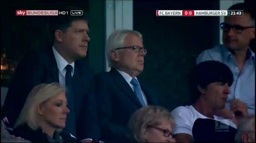 Joachim Löw at FC Bayern München v HSV 1