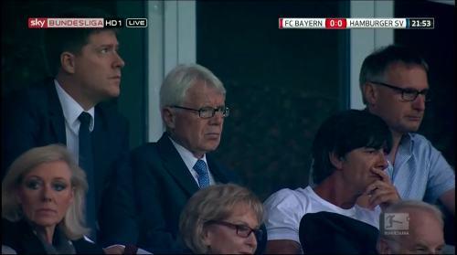 Joachim Löw at FC Bayern München v HSV 2
