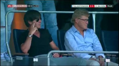 Joachim Löw at TSG Hoffenheim v FC Bayern München 2
