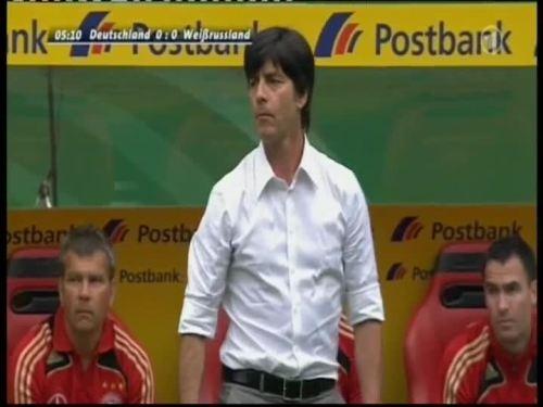 Joachim Löw – Germany v Belarus 1