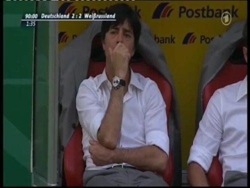 Joachim Löw – Germany v Belarus 45
