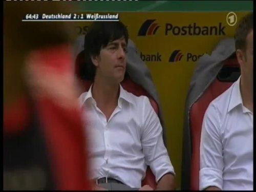 Joachim Löw & Hansi Flick – Germany v Belarus 11