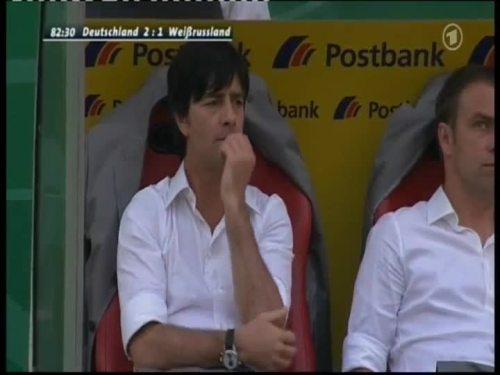 Joachim Löw & Hansi Flick – Germany v Belarus 12