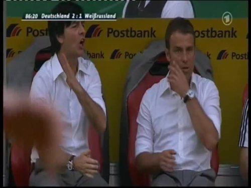 Joachim Löw & Hansi Flick – Germany v Belarus 14