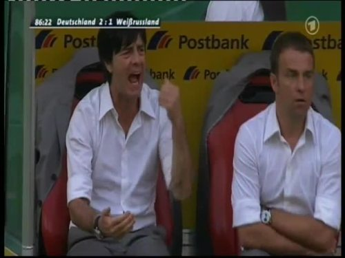 Joachim Löw & Hansi Flick – Germany v Belarus 15