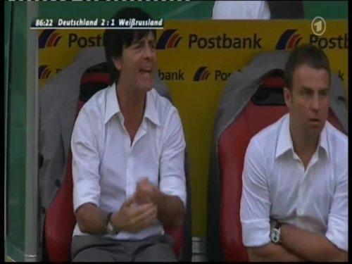 Joachim Löw & Hansi Flick – Germany v Belarus 16