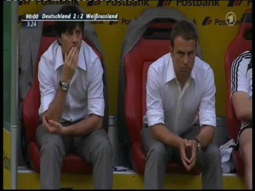 Joachim Löw & Hansi Flick – Germany v Belarus 17