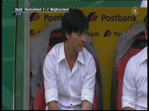 Joachim Löw & Hansi Flick – Germany v Belarus 19