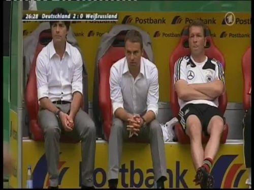 Joachim Löw & Hansi Flick – Germany v Belarus 2