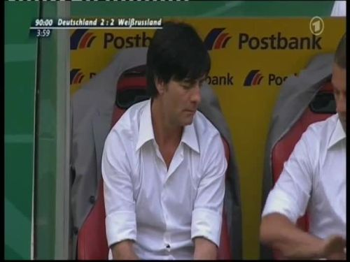 Joachim Löw & Hansi Flick – Germany v Belarus 20