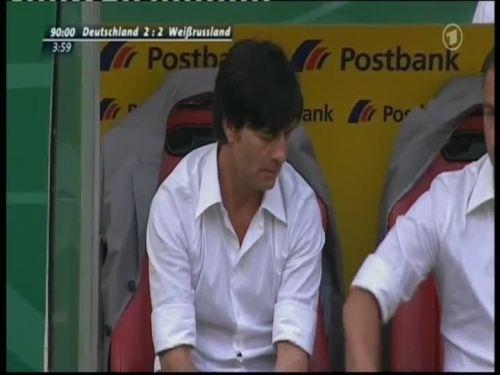 Joachim Löw & Hansi Flick – Germany v Belarus 21