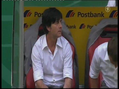 Joachim Löw & Hansi Flick – Germany v Belarus 24
