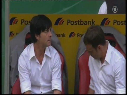Joachim Löw & Hansi Flick – Germany v Belarus 25