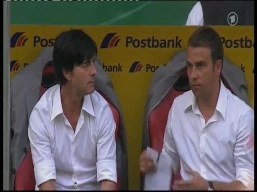 Joachim Löw & Hansi Flick – Germany v Belarus 26