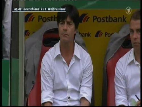 Joachim Löw & Hansi Flick – Germany v Belarus 3