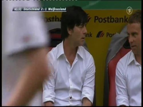 Joachim Löw & Hansi Flick – Germany v Belarus 4