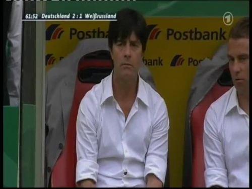 Joachim Löw & Hansi Flick – Germany v Belarus 5