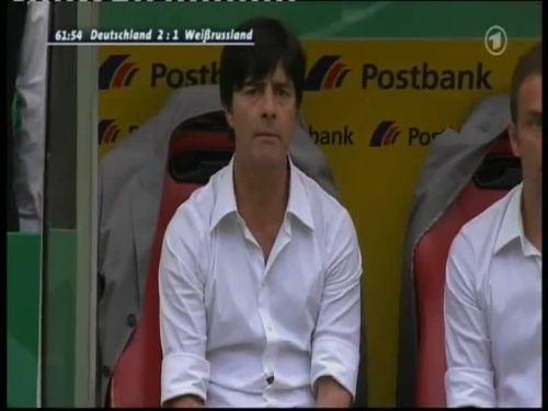 Joachim Löw & Hansi Flick – Germany v Belarus 6