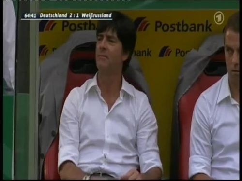 Joachim Löw & Hansi Flick – Germany v Belarus 9