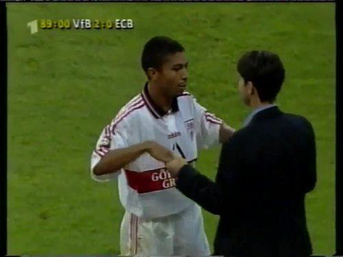 Joachim Löw - VfB Stuttgart v Energie Cottbus 36
