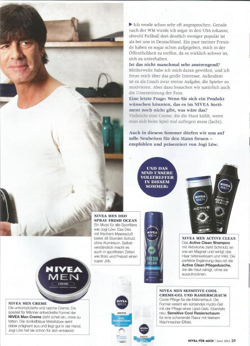Jogi - Nivea magazine 2
