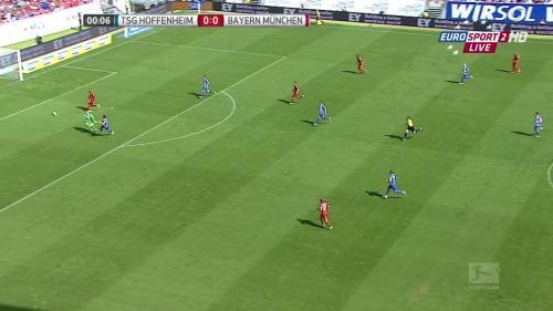 Kevin Volland goal - TSG v FCB 2