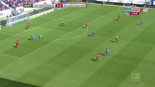 Kevin Volland goal - TSG v FCB 3