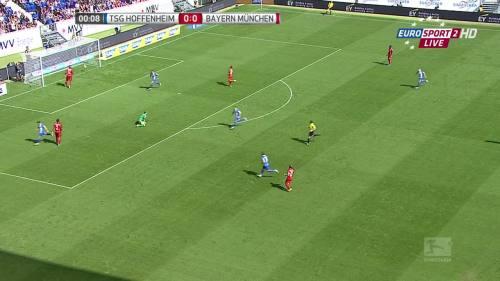 Kevin Volland goal - TSG v FCB 4