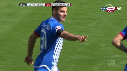 Kevin Volland - TSG v FCB 4