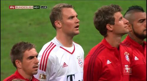 Lahm, Neuer & Müller – Bayern v HSV