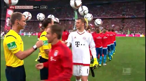 Manuel Neuer – Bayern v HSV 1