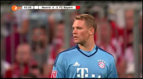 Manuel Neuer – FCB v Real Madrid 6