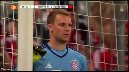 Manuel Neuer – FCB v Real Madrid 9