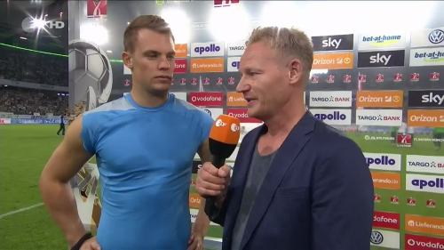 Manuel Neuer – VfL v FCB – post-match interview 1