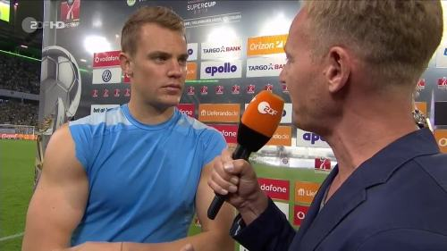 Manuel Neuer – VfL v FCB – post-match interview 2